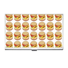 Hamburger Pattern Business Card Holders