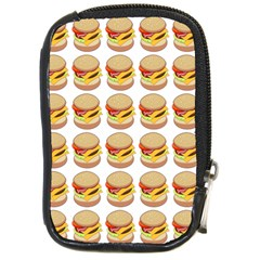 Hamburger Pattern Compact Camera Cases