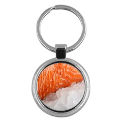 Abstract Angel Bass Beach Chef Key Chains (round)  by Simbadda