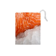 Abstract Angel Bass Beach Chef Drawstring Pouches (small)  by Simbadda