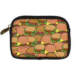 Burger Double Border Digital Camera Cases by Simbadda