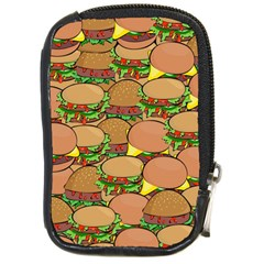Burger Double Border Compact Camera Cases by Simbadda