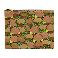 Burger Double Border Cosmetic Bag (xl)