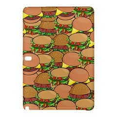 Burger Double Border Samsung Galaxy Tab Pro 10 1 Hardshell Case by Simbadda