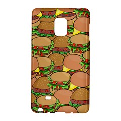 Burger Double Border Galaxy Note Edge by Simbadda