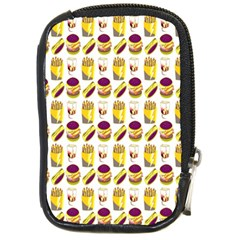 Hamburger And Fries Compact Camera Cases by Simbadda