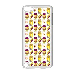 Hamburger And Fries Apple Ipod Touch 5 Case (white) by Simbadda