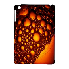 Bubbles Abstract Art Gold Golden Apple Ipad Mini Hardshell Case (compatible With Smart Cover) by Simbadda