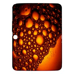 Bubbles Abstract Art Gold Golden Samsung Galaxy Tab 3 (10 1 ) P5200 Hardshell Case