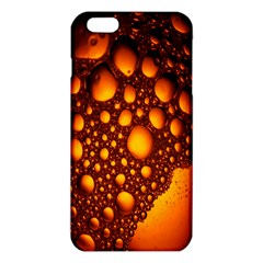 Bubbles Abstract Art Gold Golden Iphone 6 Plus/6s Plus Tpu Case by Simbadda