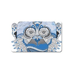 Pattern Monkey New Year S Eve Magnet (name Card)