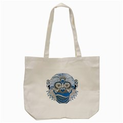 Pattern Monkey New Year S Eve Tote Bag (cream) by Simbadda