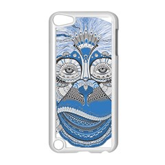 Pattern Monkey New Year S Eve Apple Ipod Touch 5 Case (white) by Simbadda