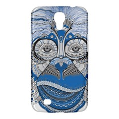 Pattern Monkey New Year S Eve Samsung Galaxy Mega 6 3  I9200 Hardshell Case by Simbadda