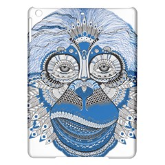 Pattern Monkey New Year S Eve Ipad Air Hardshell Cases by Simbadda