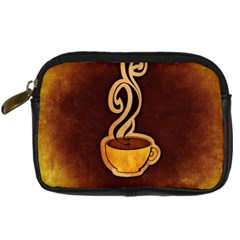 Coffee Drink Abstract Digital Camera Cases by Simbadda