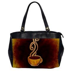 Coffee Drink Abstract Office Handbags by Simbadda