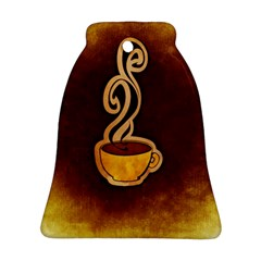 Coffee Drink Abstract Ornament (bell) by Simbadda