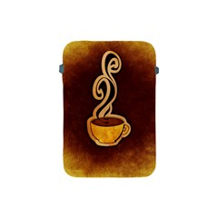 Coffee Drink Abstract Apple Ipad Mini Protective Soft Cases by Simbadda