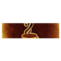 Coffee Drink Abstract Satin Scarf (oblong)