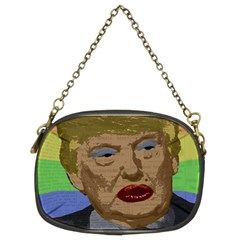 Donald Trump Chain Purses (two Sides)  by Valentinaart