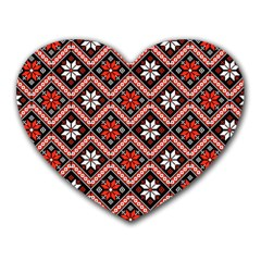 Folklore Heart Mousepads by Valentinaart