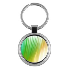 Folded Digitally Painted Abstract Paint Background Texture Key Chains (round)  by Simbadda