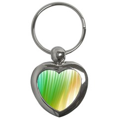 Folded Digitally Painted Abstract Paint Background Texture Key Chains (heart)  by Simbadda