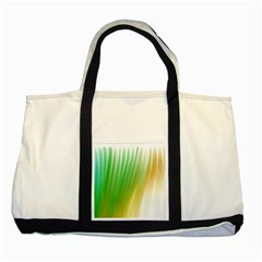 Folded Digitally Painted Abstract Paint Background Texture Two Tone Tote Bag by Simbadda