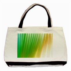 Folded Digitally Painted Abstract Paint Background Texture Basic Tote Bag (two Sides) by Simbadda