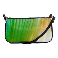 Folded Digitally Painted Abstract Paint Background Texture Shoulder Clutch Bags by Simbadda