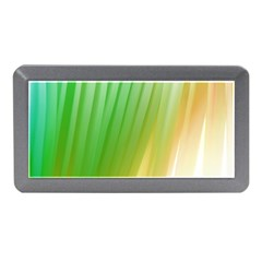 Folded Digitally Painted Abstract Paint Background Texture Memory Card Reader (mini) by Simbadda