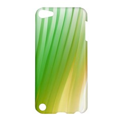 Folded Digitally Painted Abstract Paint Background Texture Apple Ipod Touch 5 Hardshell Case by Simbadda