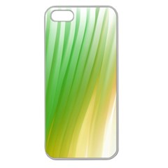 Folded Digitally Painted Abstract Paint Background Texture Apple Seamless Iphone 5 Case (clear) by Simbadda