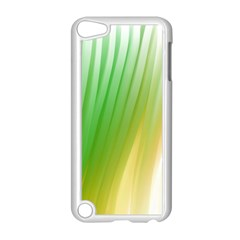 Folded Digitally Painted Abstract Paint Background Texture Apple Ipod Touch 5 Case (white) by Simbadda