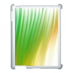 Folded Digitally Painted Abstract Paint Background Texture Apple Ipad 3/4 Case (white) by Simbadda