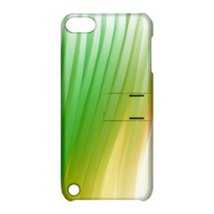 Folded Digitally Painted Abstract Paint Background Texture Apple Ipod Touch 5 Hardshell Case With Stand by Simbadda