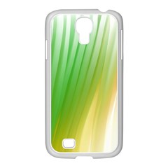 Folded Digitally Painted Abstract Paint Background Texture Samsung Galaxy S4 I9500/ I9505 Case (white)