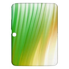 Folded Digitally Painted Abstract Paint Background Texture Samsung Galaxy Tab 3 (10 1 ) P5200 Hardshell Case  by Simbadda
