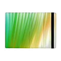 Folded Digitally Painted Abstract Paint Background Texture Ipad Mini 2 Flip Cases by Simbadda