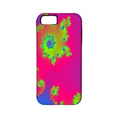 Digital Fractal Spiral Apple Iphone 5 Classic Hardshell Case (pc+silicone)