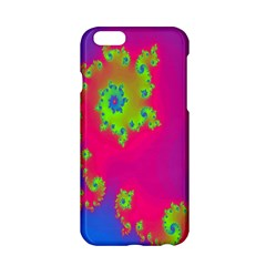 Digital Fractal Spiral Apple Iphone 6/6s Hardshell Case by Simbadda