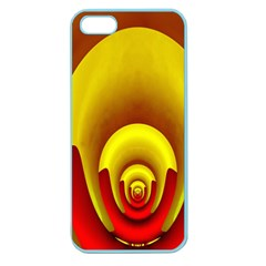 Red Gold Fractal Hypocycloid Apple Seamless Iphone 5 Case (color) by Simbadda