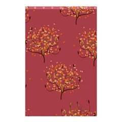 Beautiful Tree Background Pattern Shower Curtain 48  X 72  (small)  by Simbadda