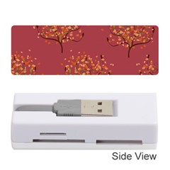 Beautiful Tree Background Pattern Memory Card Reader (stick)