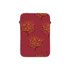 Beautiful Tree Background Pattern Apple Ipad Mini Protective Soft Cases by Simbadda