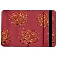 Beautiful Tree Background Pattern Ipad Air 2 Flip