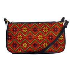 Folklore Shoulder Clutch Bags by Valentinaart