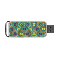 Folklore Portable Usb Flash (two Sides) by Valentinaart