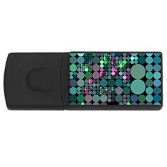 Color Party 03 Usb Flash Drive Rectangular (4 Gb) by MoreColorsinLife